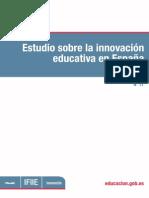Estudio Innovación Educativa
