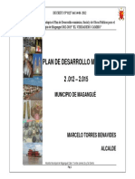 Plan de Desarrollo Municipal de Magangue 2012 -2015