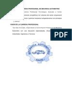 Misión de La Carrera Profesional de Mecánica Automotriz