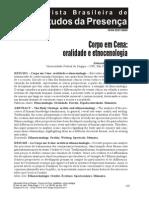 CorpoEmCena-Oralidade e Etnocenologia