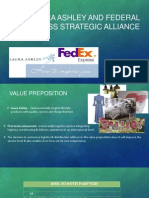 Case- Laura Ashley and Federal Express Strategic Alliance
