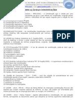 13 Exercicio de Constitucional - Classificação Das Constituições