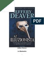 Jeffery Deaver - Az Illuzionista