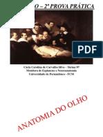 2ª Prova Prática de Anatomia (SIMULADO) - Morfofuncional II