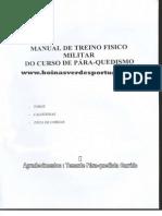 Manual de Treino Fisico Militar Do Curso de Para-quedismo