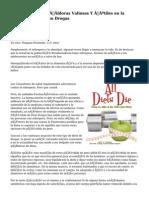 fentermina dieta píldoras Valiosas Y útiles en la Pérdida de Peso Drogas
