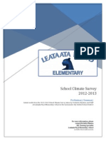 LFE School Climate Survey