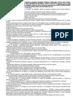Continutul Documentatiilor Depuse in Vederea Obtinerii Acordului Prealabil Pentru Amplasarea