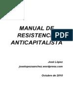 Manual de Resistencia Anticapitalista