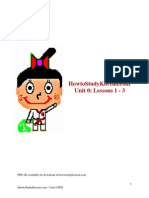 HowtoStudyKorean Unit 0 PDF
