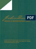 Essays in Experimental Logic, Dewey Introducción