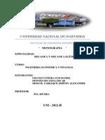 monografia economika