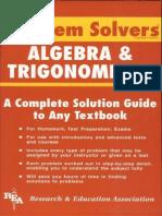 Algebra & Trig Problem Solver