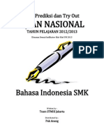 Soal Try Out Un Bahasa Indonesia Smk Paket 53