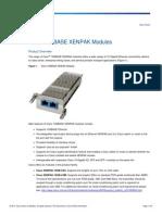 Sensibilidade dos Módulos 10GB Rede MPLS
