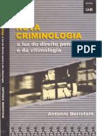 177451857 Antonio Beristain a Nova Criminologia a Luz Do Direito Penal e Da Vitimologia Ano 2000 PDF
