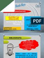 Platon y La Educacion