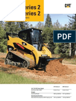 Cat 277C 287C Series 2 Multi-Terrain Loader Brochure
