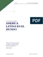 America Latina en El Mundo - Brigue