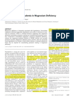 Mechanism of Hypokalemia in Magnesium Deficiency