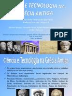 Ciência e Tecnologia Na Grécia Antiga