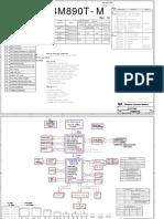 Mainboard ESC Model P4M890T M