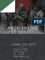 Digital Booklet - War Eternal