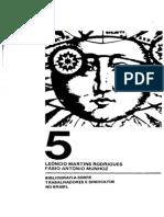 RODRIGUES, Leôncio Martins - Bibliografia Sobre Trabalhadores