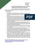 Acuerdos Asamblea FEPUC Del 27 de Junio Sobre Consulta a Bases Para Elección de Rectorado