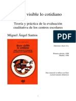 Hacer Visible Lo Cotidiano Santos Miguel Angel 1998