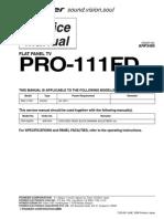Pioneer Pro 111fd