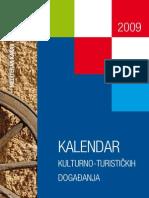 Hrvatska - Kalendar kulturno-turističkih događanja 2009