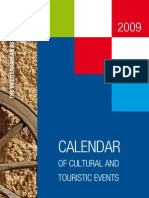 Croatia - Calendar of cultural and touristic events 2009