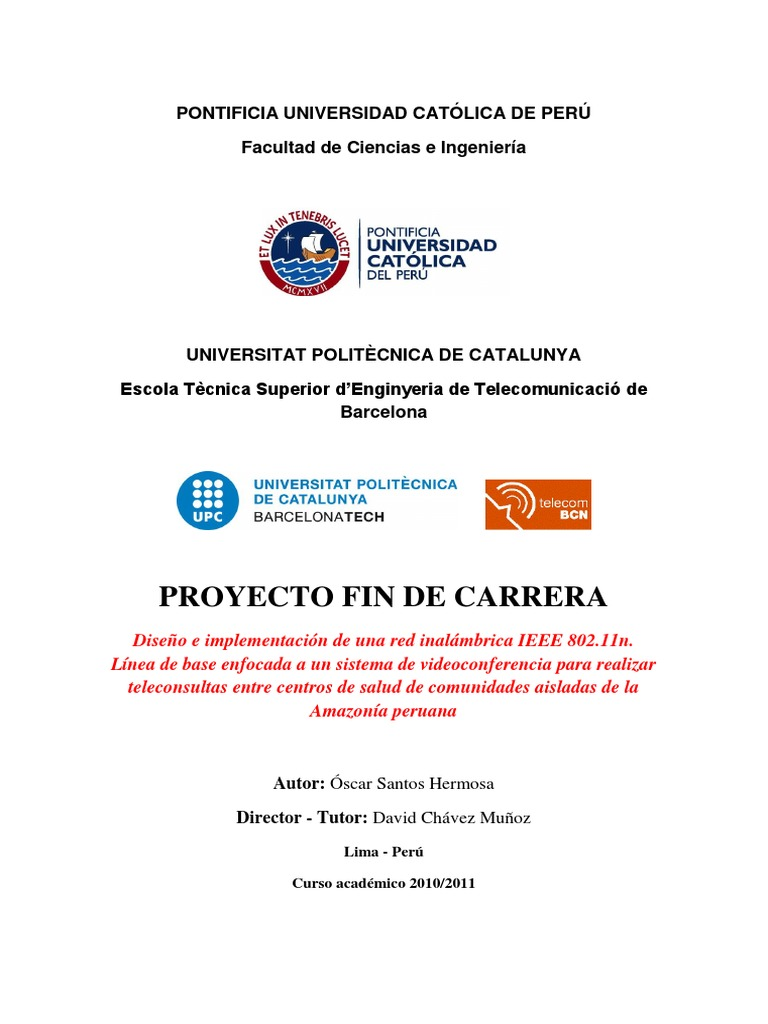 Proyecto Fin de Carrera (PFC) - Oscar Santos Hermosa