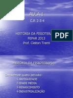 Aula 1-História Da Fisioterapia- 2013