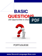 Basic Questions Portuguese