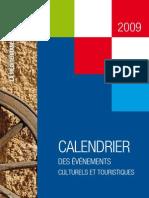 la Croatie - Calendrier des événements culturels et touristiques 2009