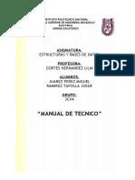 Manual Deltecnico Listas Enlazadas 2