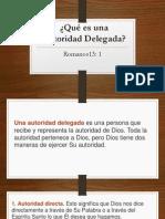 11.Qué Es Una Autoridad Delegada