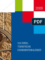 Kroatië - Cultureeltoeristische evenementenkalender 2009