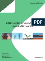 Dp Fieec - Efficacite Energetique Des Batiments - Sept 2011