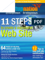 11 Steps to Create a Successful Website