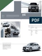 Audi a6 Brochure