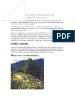 En El Antiguo Idioma de Los Incas