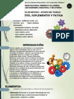 Ing. Metodos - Elementos , Suplementos y Fatiga
