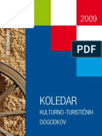 Hrvaška - Koledar kulturno-turističnih dogodkov 2009