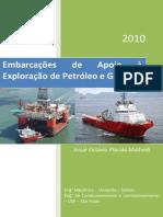 Livro Embarcações de Apoio à Exploração de Petróleo e Gás