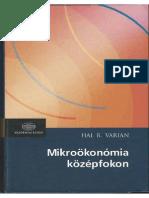 Hal R. Varian-Mikroökonómia Középfokon