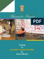 Police Training Manual on Juvenile Justice