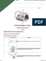 Engenharia Civil - Resistencia Dos Materiais